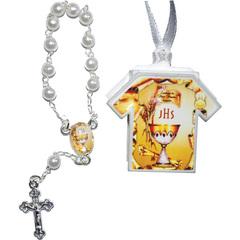 Foto do produto: Lembrança da Primeira Eucaristia com formato de camiseta