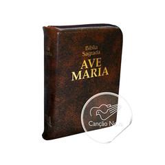Foto do produto: Livro Bíblia Ave Maria Grande com Zípper